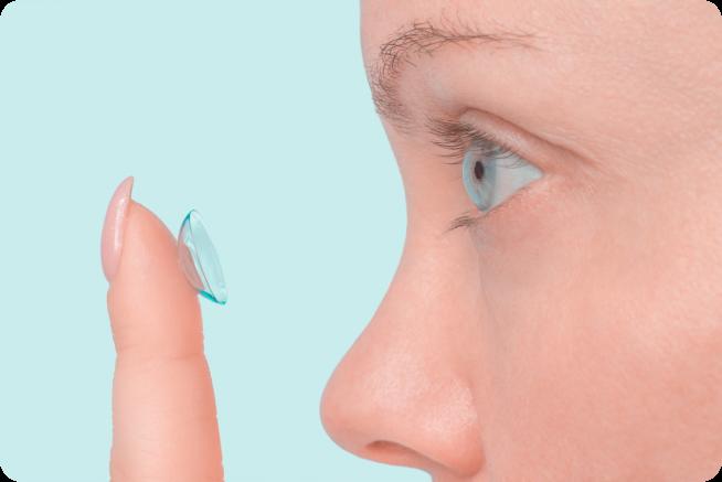 einsetzen von Linsen kontaktlinsen hamburg